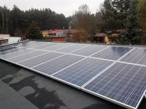 Instalacja fotowoltaiczna on-grid 4,5 kWp w Ciborzu
