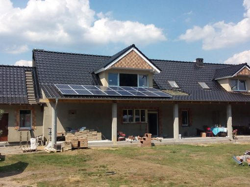 Instalacja fotowoltaiczna 4 kWp w Gozdnicy