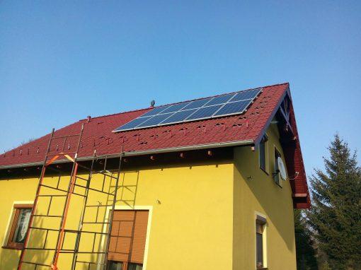 Instalacja fotowoltaiczna 5 kWp w Jarogniewicach