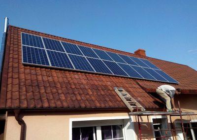 Instalacja fotowoltaiczna off-grid 4,5 kWp w Koźlej