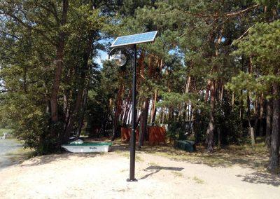 Lampy solarne w Lubikowie