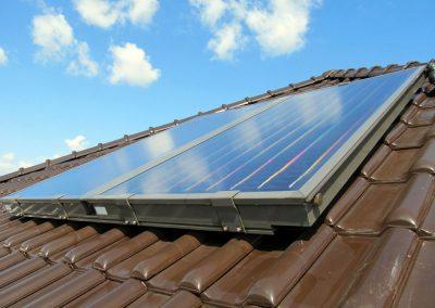 Kolektory słoneczne w Nowej Soli