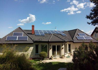Instalacja fotowoltaiczna 10 kWp w Starym Kisielinie