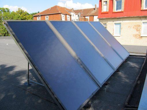 Kolektory słoneczne w Sulechowie