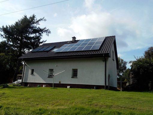 INSTALACJA OFF-GRID 4 kWp TORZYM.