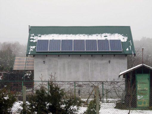 Instalacja fotowoltaiczna on-grid 1,75 kWp w Zielonej Górze