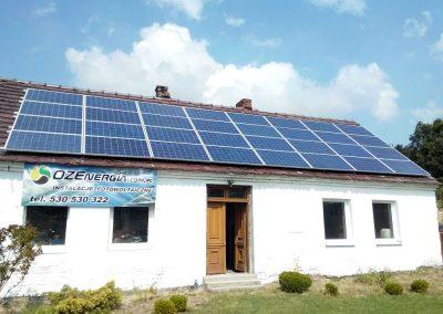 Instalacja on-grid 8 kWp w Zielonej Górze