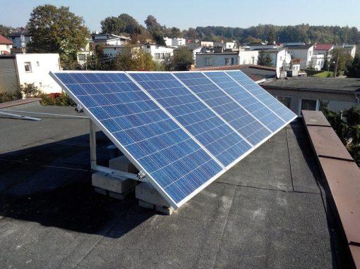 Instalacja on-grid 1,25 kWp w Zielonej Górze