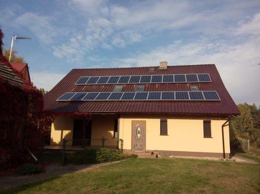 INSTALACJA FOTOWOLTAICZNA 6 kWp DRZONÓW.