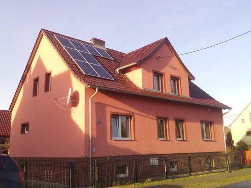 Instalacja fotowoltaiczna 4 kWp Bronków