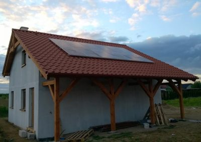 Instalacja fotowoltaiczna 3,12 kWp Santok