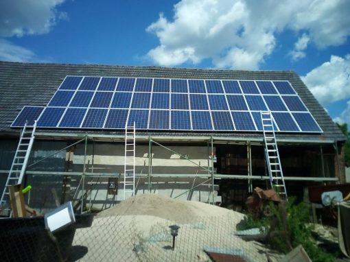 Instalacja fotowoltaiczna 10 kWp Kumiałtowice