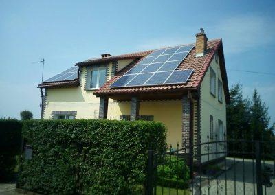 Instalacja fotowoltaiczna 6,24 kWp Leszno Górne