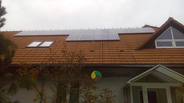 Instalacja fotowoltaiczna 4,16 kWp Słubice.