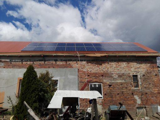 INSTALACJA FOTOWOLTAICZNA 6.6 kWp RADOWICE.