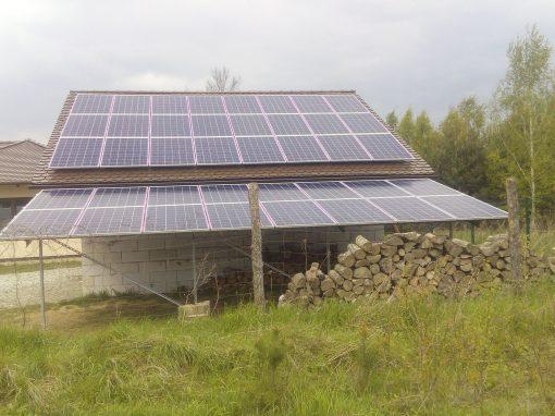 INSTALACJA FOTOWOLTAICZNA 11,2 kWp SŁONE.