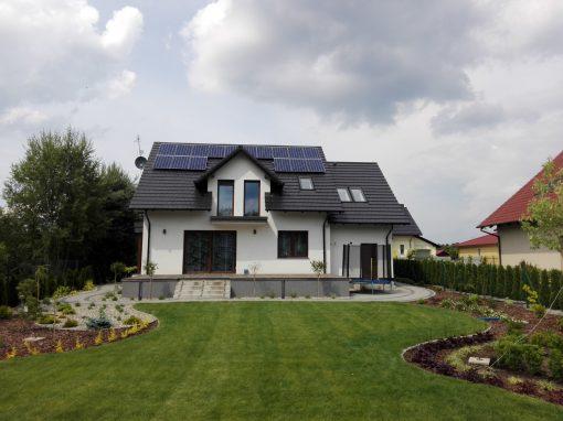 INSTALACJA FOTOWOLTAICZNA 4,48 kWp Zielona Góra.