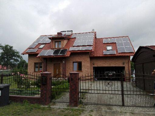 INSTALACJA FOTOWOLTAICZNA 10 kWp Kalsk.