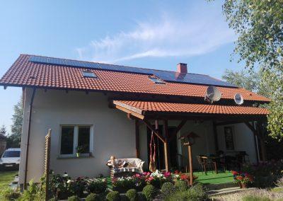 INSTALACJA FOTOWOLTAICZNA 5,32 kWp Ochla.