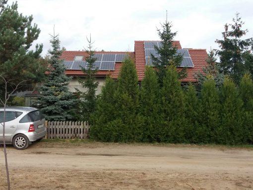 INSTALACJA FOTOWOLTAICZNA 4,05 kWp BOSZKOWO.