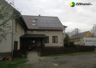 INSTALACJA FOTOWOLTAICZNA 7,0 kWp ZIĘBIKOWO