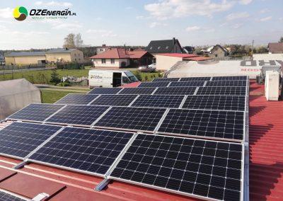 INSTALACJA FOTOWOLTAICZNA 6,4 kWp ADAMOWO