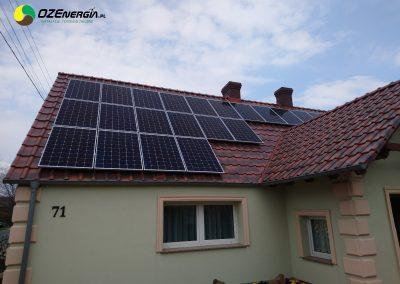INSTALACJA FOTOWOLTAICZNA 9,45 kWp GÓRZYN