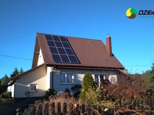 INSTALACJA FOTOWOLTAICZNA 3.36 kWp OTYŃ