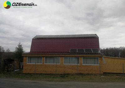 INSTALACJA FOTOWOLTAICZNA 5,04 kWp PRZEŁAZY