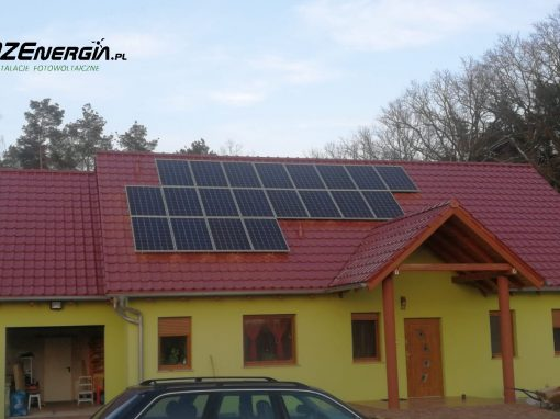 INSTALACJA FOTOWOLTAICZNA 6.1 kWp STARA KOPERNIA