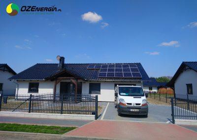INSTALACJA FOTOWOLTAICZNA 5,34 kWp SUCHA
