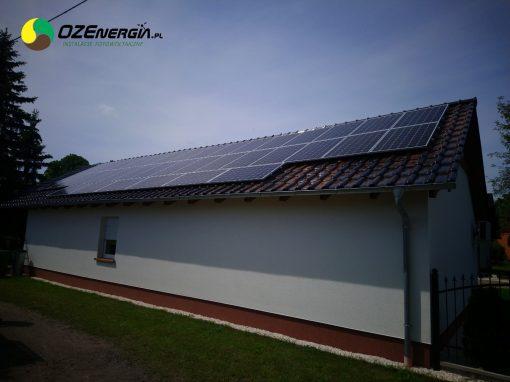 INSTALACJA FOTOWOLTAICZNA 11,78 kWp MIRKOWICE