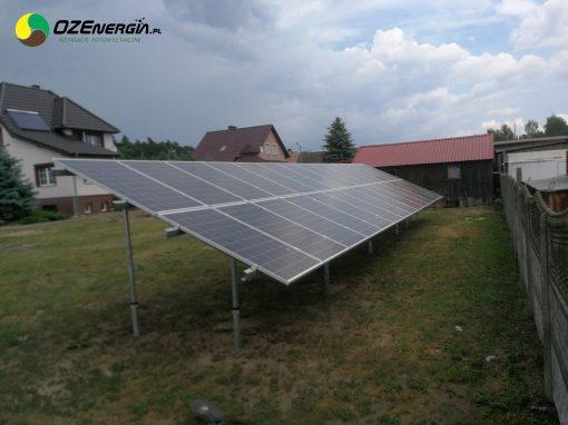 INSTALACJA FOTOWOLTAICZNA 7,84 kWp Bieżyce