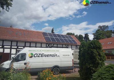 INSTALACJA FOTOWOLTAICZNA 4,41 kWp LUBIĘCIN