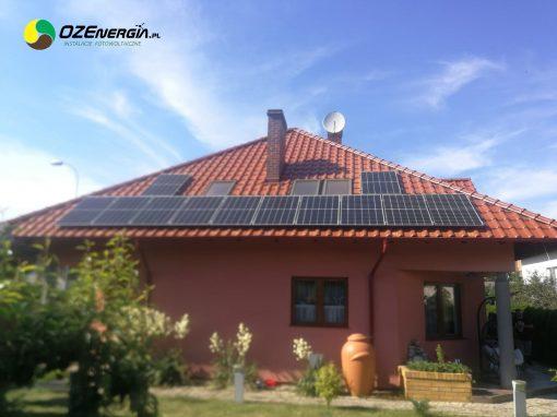 INSTALACJA FOTOWOLTAICZNA 7,8 kWp KROSNO ODRZAŃSKIE